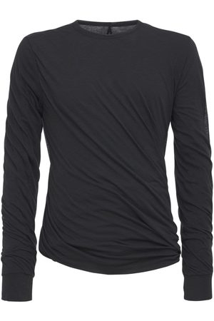Rick Owens Twist Long L/s Double Jersey T-shirt