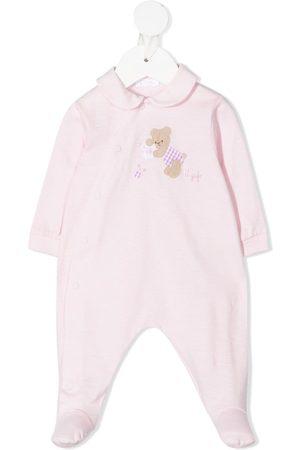 Il gufo Pyjamat - Teddy-motif cotton pajamas