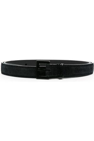 Saint Laurent Miehet Vyöt - Suede buckle belt