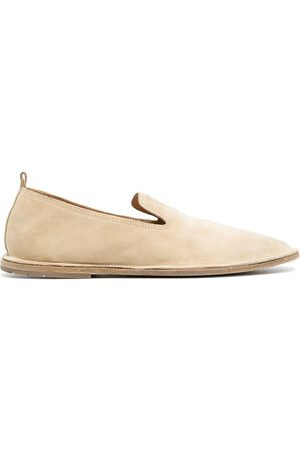 MARSÈLL Naiset Loaferit - Strasacco round-toe suede loafers