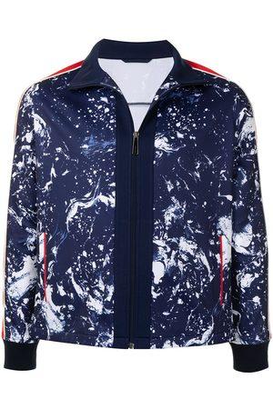 Ports V Takit - Printed zip-up track jacket