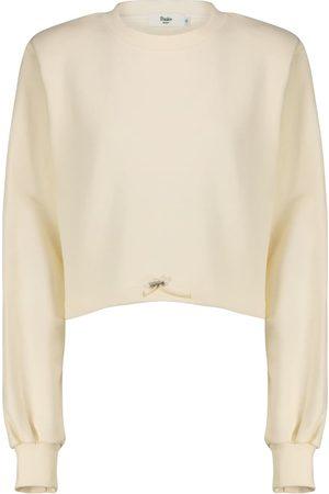 Frankie Shop Drawstring cotton terry sweatshirt