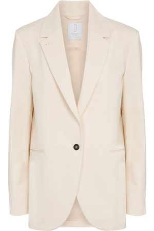 Deveaux New York Tylynn cotton blazer