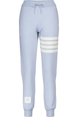 Thom Browne Cashmere and cotton-blend trackpants