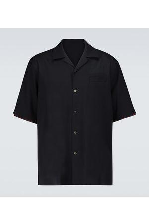 SACAI Wool suiting shirt