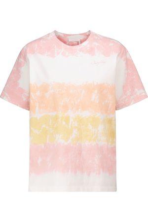 See by Chloé Tie-dye cotton T-shirt