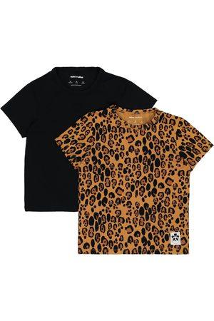 Mini Rodini Set of 2 stretch T-shirts