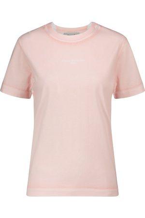 Stella McCartney Logo cotton-jersey T-shirt