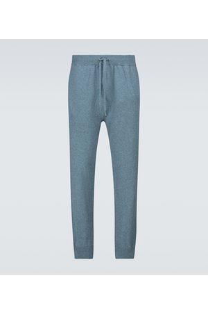 DEREK ROSE Finley 4 cashmere trackpants