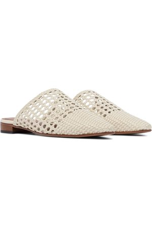Souliers Martinez Exclusive to Mytheresa – Espalmador leather slippers