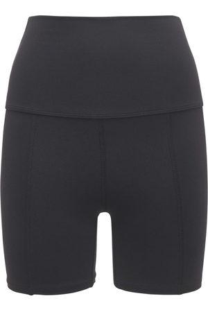LIVE THE PROCESS Geometric High Waist Shorts