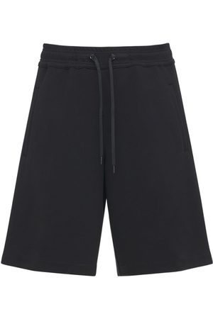 Neil Barrett Oversize Workwear Viscose Blend Shorts