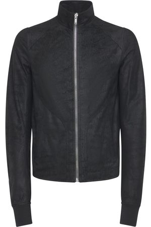 Rick Owens Rough Leather Crust Jacket