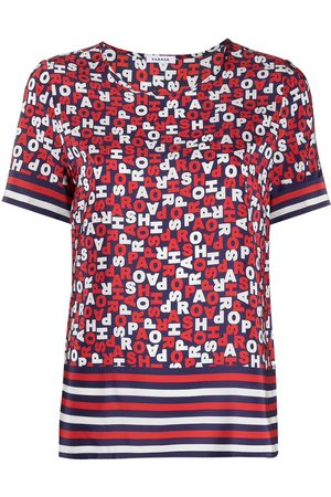 P.a.r.o.s.h. Logo-print crew-neck T-shirt