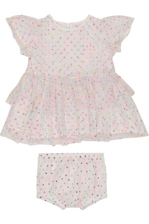 Stella McCartney Baby polka-dot tulle dress and bloomers set