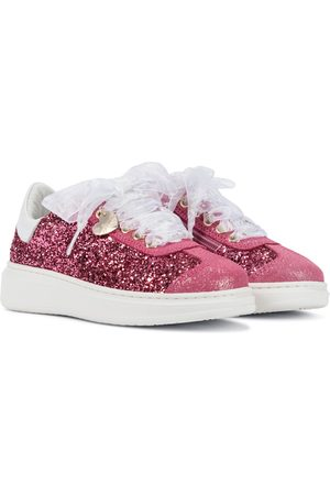 MONNALISA Glitter sneakers