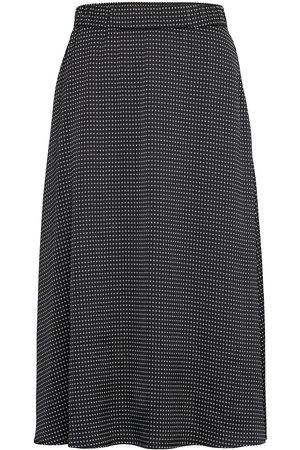 Bruuns Bazaar Naiset Midihameet - Acacia Violetta Skirt Polvipituinen Hame