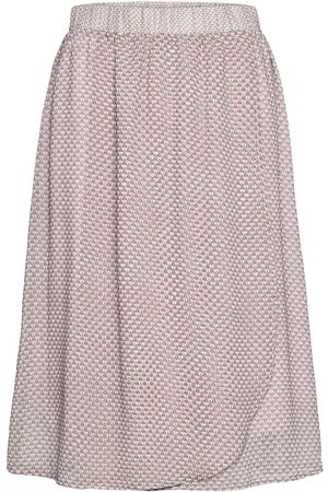 Karen by Simonsen Frankiekb Skirt Polvipituinen Hame Vaaleanpunainen
