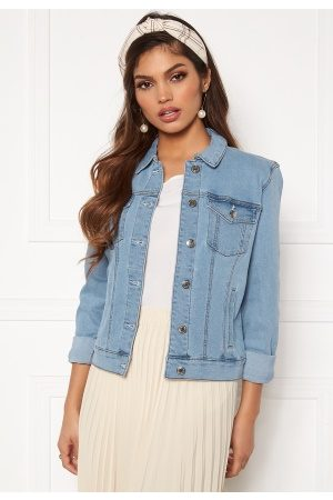 Vero Moda Hot Soya LS Denim Jacket Light Blue Denim XS