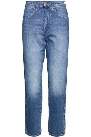 Wrangler Mom Jeans Jeans Mom Jeans Sininen