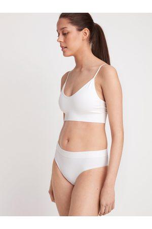 Lindex Naiset Bralette - Saumattomat soft-rintaliivit, joissa ribbikuvio ja v-pääntie