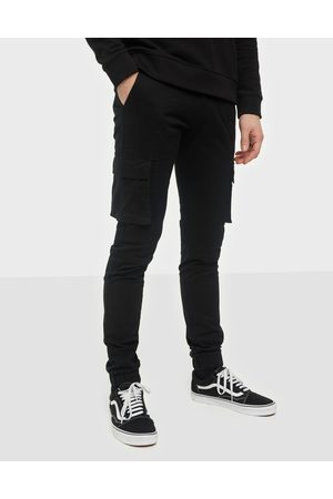 Denim Project Miehet Reisitaskuhousut - Cargo Pant Housut Black