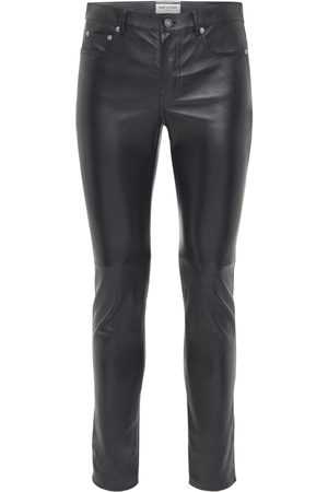 Saint Laurent 15.5cm Skinny Leather Pants