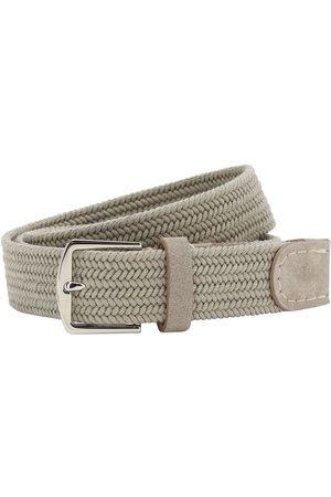 Loro Piana 3.5cm Sea-weave Cotton Belt