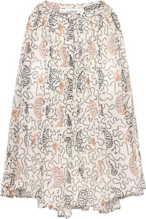Isabel Marant Naiset Topit - Abiti Printed Cotton Top