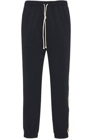 Gucci Technical Jersey Track Pants W/side Band