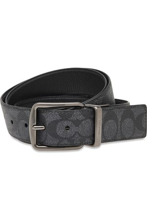 Coach Wd Hrns Cts Sig Accessories Belts Classic Belts Musta