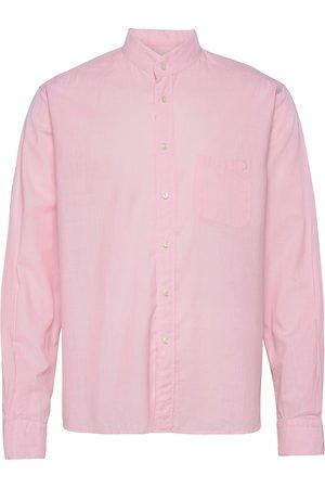 Eton Contemporary Fit Casual Lightweight Twill Shirt Paita Rento Casual Vaaleanpunainen