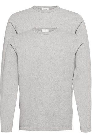 WoodWood Miehet T-paidat - Emil 2-Pack Long Sleeve T-shirts Long-sleeved
