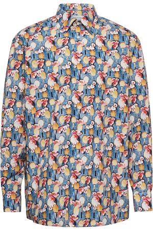 Eton Miehet Bisnes - Classic Fit Business Casual Poplin Shirt Paita Bisnes Monivärinen/Kuvioitu