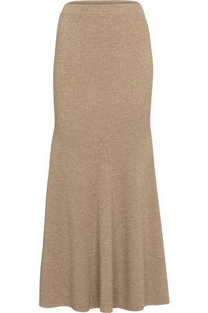 Nanushka Naiset Midihameet - Alina wool-blend midi skirt
