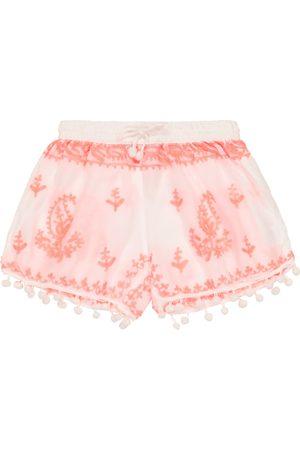 Melissa Odabash Baby Sienna embroidered shorts