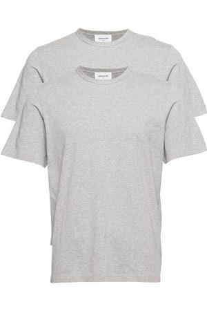 WoodWood Miehet T-paidat - Allan 2-Pack T-Shirt T-shirts Short-sleeved