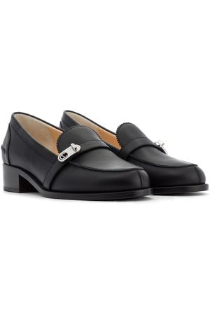 Christian Louboutin Lock Me leather loafers