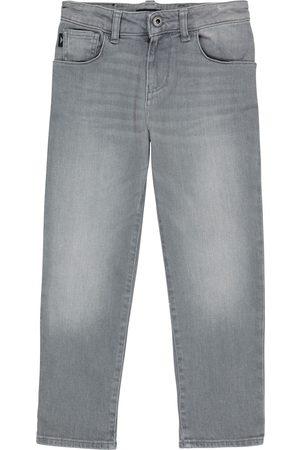 Emporio Armani Miehet Stretch - Stretch-cotton jeans