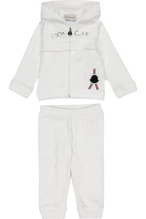 Moncler Verryttelyasut - Baby cotton jersey tracksuit