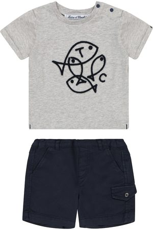 Tartine Et Chocolat Setit - Baby cotton T-shirt and shorts set
