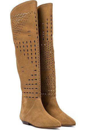 Isabel Marant Soren suede knee-high boots