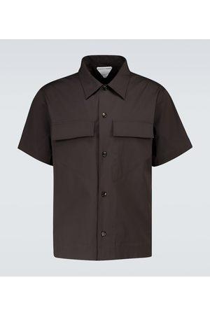 Bottega Veneta Miehet T-paidat - Military short-sleeved shirt