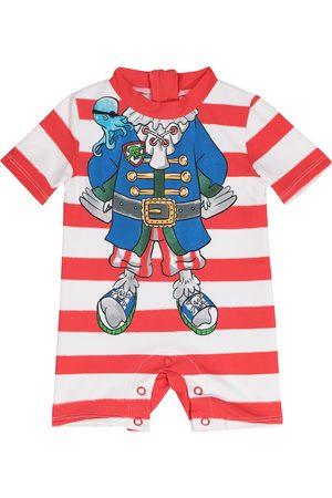 Stella McCartney Vauvat Uimapuvut - Baby striped swimsuit