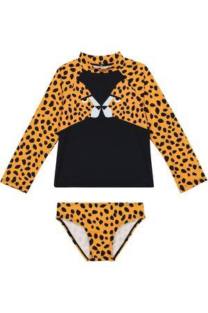 Stella McCartney Tytöt Setit - Cheetah-print swimwear set