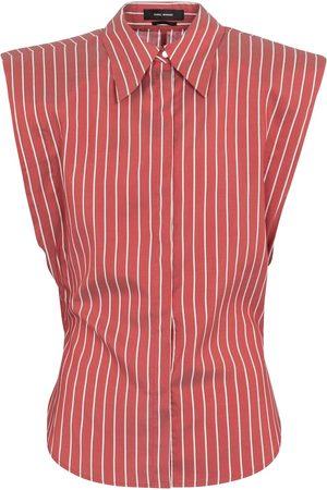 Isabel Marant Enza pinstriped silk shirt