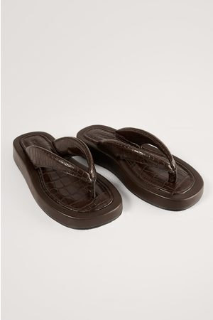 NA-KD Paksu Sandaalit - Brown