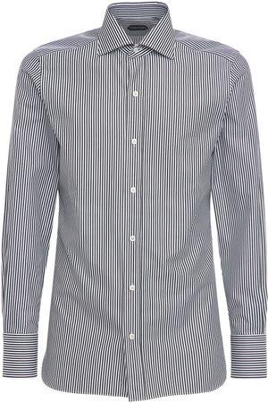 Tom Ford Sharp Stripe Cotton Shirt
