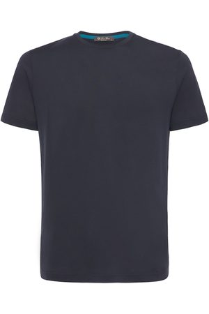 Loro Piana Silk & Cotton Soft Jersey T-shirt