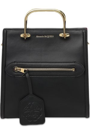 Alexander McQueen The Short Story Leather Tote Bag